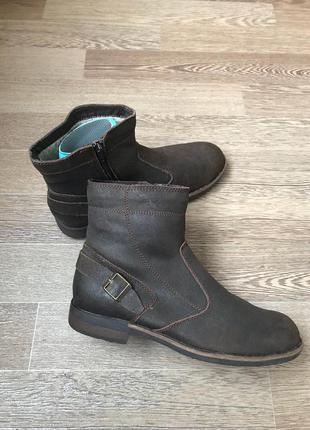 Кожаные ботинки сапоги  roberto santi active 42,5р 28-285 см н...