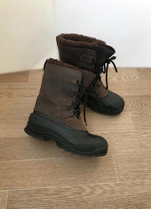 Снегоходв зимние ботинки  kamik waterproof 41р