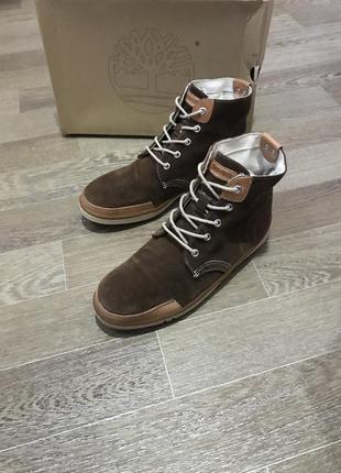 Кожаные ботинки timberland earthkeepers