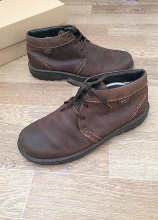 Camel active gore-tex кожаные ботинки 46р