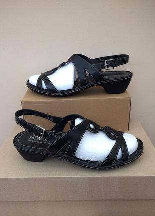 Josef seibel кожаные босоножки сандалии