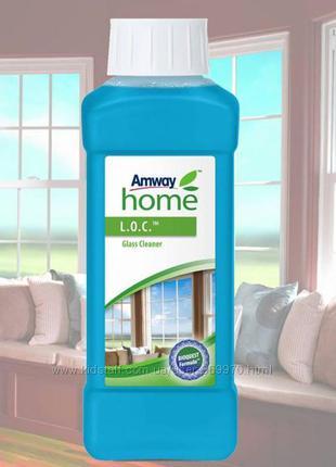 Концентрированная жидкость для мытья стекол loc от amway