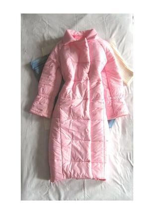 Пуховик-одеяло, зефирка, длинное зимнее пальто синтепон