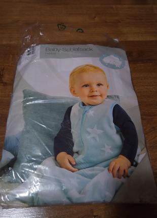 Тёплый спальный мешок для малышей Impidimi Германия, р.70 см