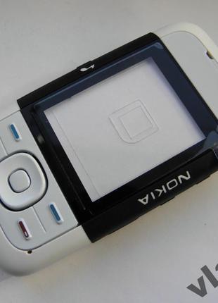 Корпус для Nokia 5200 чёрный с кнопками class AAA