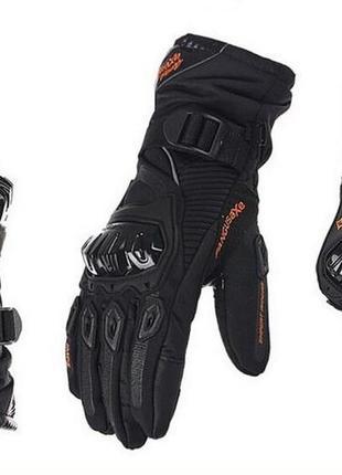 100% водонепроницаемые перчатки для мотоцикла pangusaxe теплые...