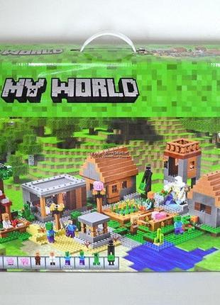 Конструктор Minecraft Деревня 10531