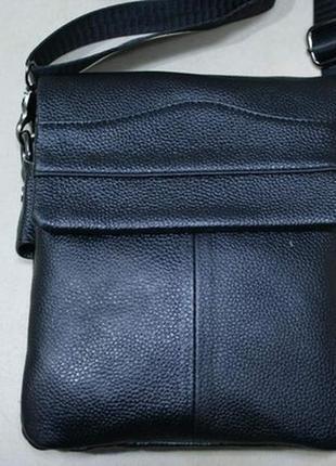 Мужская кожаная сумка из кожи