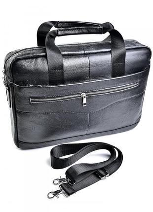 Мужская кожаная сумка шкіряна чоловіча портфель из натуральной...