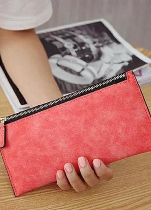 Мини клатч кошелек кошельок гаманець шкіряний
