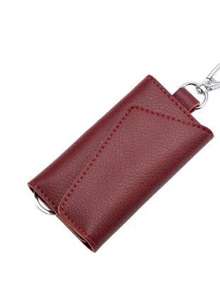 Кожаная ключница шкіряна ключниця для ключів гаманець