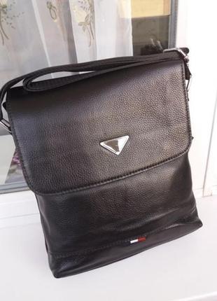 Кожаная мужская сумка чоловіча шкіряна из натуральной кожи