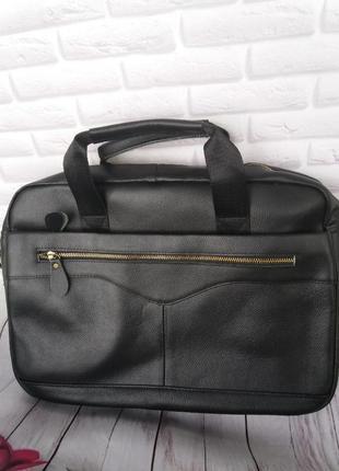 Мужская сумка портфель из натуральной кожи шкіряний чоловічий