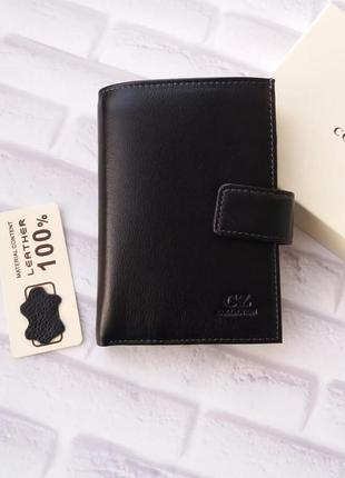 Кожаный кошелек портмоне кожаное из натуральной кожи шкіряний ...