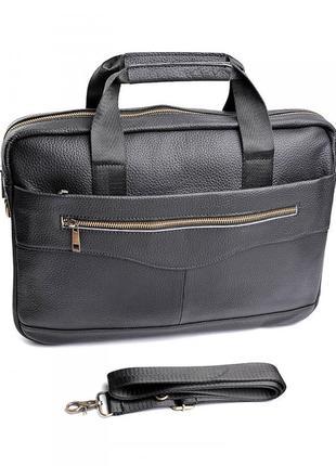 Портфель из натуральной кожи. сумка мужская чоловіча шкіряна