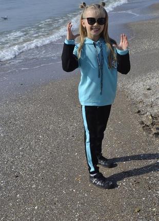 Спортивный костюм для девочки спорт костюм спортивний набір на...