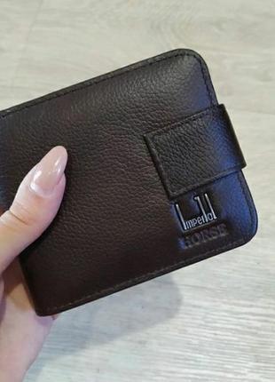 Мужское кожаное портмоне кошелек из натуральной кожи гаманець ...