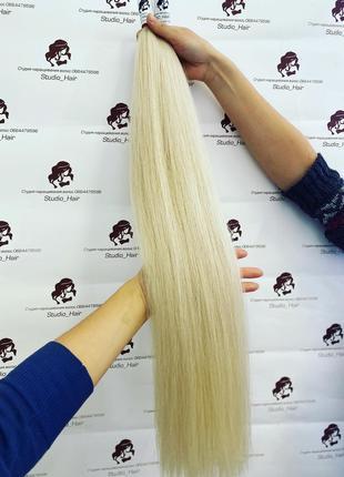 Натуральные волосы для наращивания в срезе