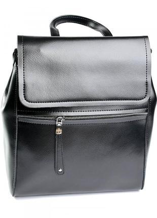 Женский кожаный рюкзак.