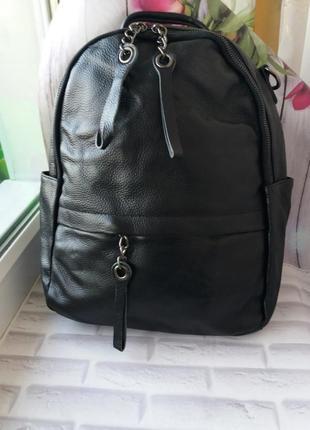 Женский кожаный рюкзак из натуральнлй кожи шкіряний жіночий