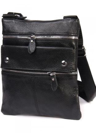 Мужская сумка-планшет из натуральной кожи.