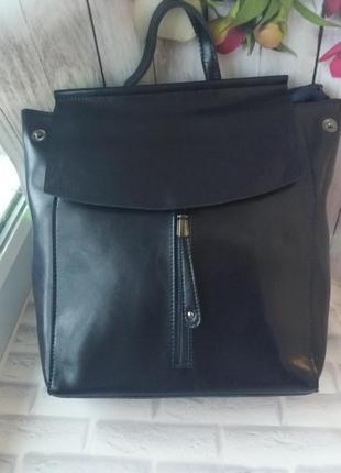 Женский кожаный рюкзак из натуральной кожи жіночий шкіряний  с...