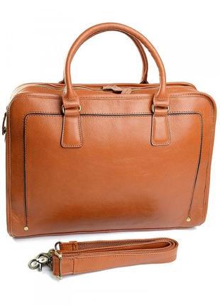 Кожаный портфель из натуральной кожи сумка кожаная мужской муж...
