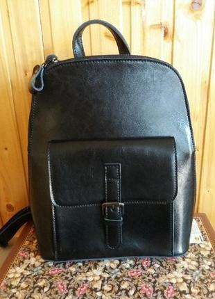 Женский кожаный рюкзак из натуральной кожи портфель шкіряний с...