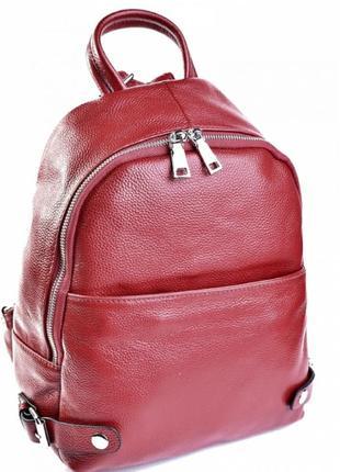 Женский кожаный рюкзак из натуральной кожи жіночий шкіряний по...