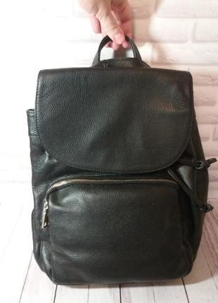 Женский кожаный рюкзак из натуральной кожи шкіряний портфель ж...