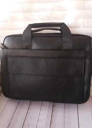 Кожаный мужской портфель из натуральной кожи шкіряний чоловічи...