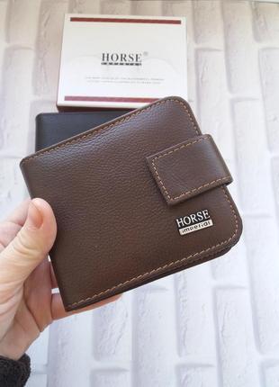 Мужское кожаное портмоне из натуральной кожи. кожаный кошелек ...