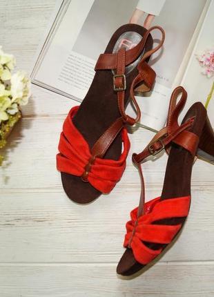 Footglove! замша! красивые босоножки на удобном каблуке