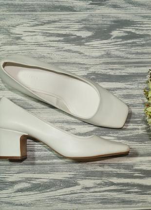 🌿40🌿mango. фирменные туфли на устойчивом каблуке