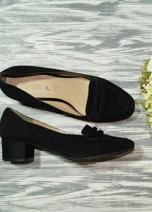 🌿41🌿footglove. замша. красивые туфли на удобном каблучке
