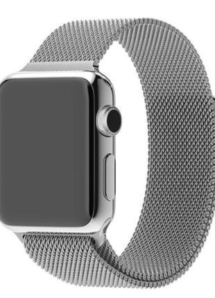 Ремешок браслет миланская петля milanese loop apple watch 42 /...