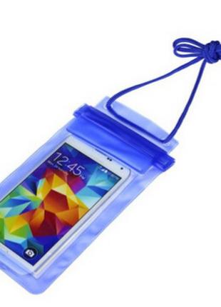 Чехол водонепроницаемый  для телефона с диагональю 6 дюймов