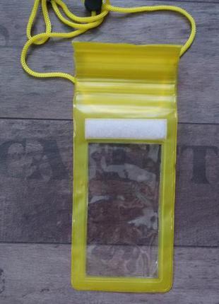 Чехол водонепроницаемый 5 дюймов защита от песка и воды