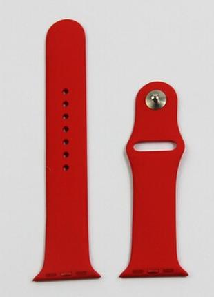 Ремешок / браслет для apple watch 42 мм, красный