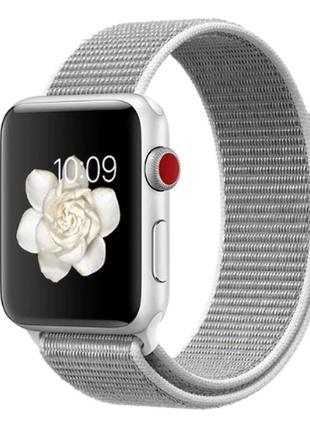 Ремешок браслет sport loop для apple watch 42 мм 1 / 2 / 3 / 4...