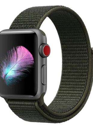 Ремешок браслет sport loop для apple watch 38 мм 1 / 2 / 3 / 4...
