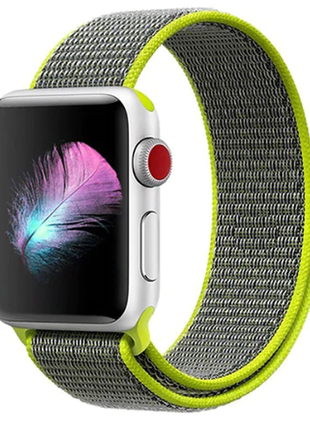 #розвантажуюсь ремешок браслет sport loop для apple watch 42 м...