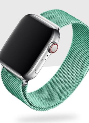 Ремешок браслет миланская петля milanese loop apple watch 38 /...