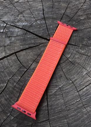 Ремешок браслет sport loop дляapple watch 42/44мм и 38/40 мм ...