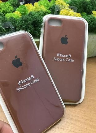 Чехол накладка apple silicone case для iphone7 , iphone 8