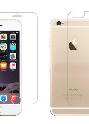 Защитное стекло для iphone 6 + plus для задней панели телефона...