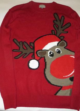 Рождественский свитер с оленем