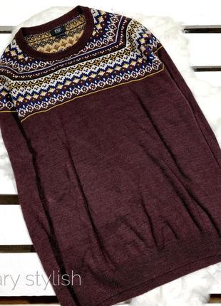 Мужской свитер реглан f&f !!!новогодняя скидка!!!