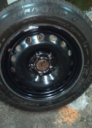 4шт Зимние 185/75R16C Dunlop SP LT60-8 С дисками Opel Vivaro
