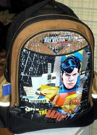 Ортопедический школьный рюкзак superman